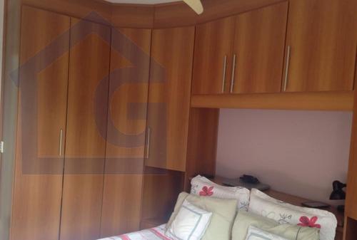 apartamento para venda, 2 dormitórios, demarchi - são bernardo do campo - 3340