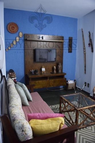apartamento para venda, 2 dormitórios, itagua - ubatuba - 70