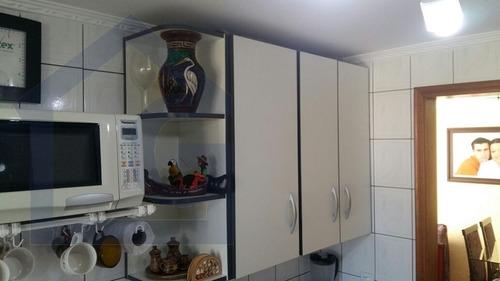 apartamento para venda, 2 dormitórios, jardim alvorada - santo andré - 3043