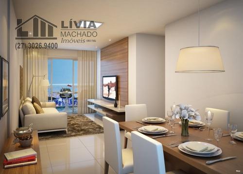 apartamento para venda, 2 dormitórios, jardim da penha - vitória - 1455