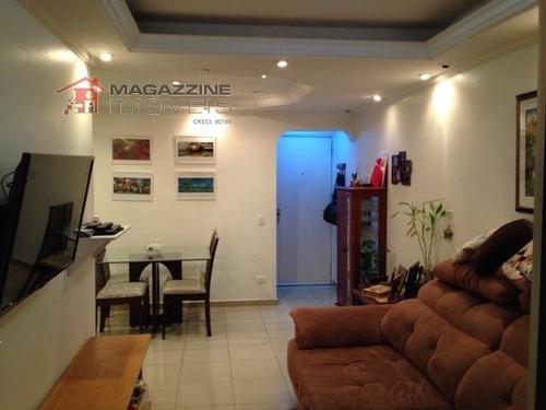 apartamento para venda, 2 dormitórios, jardim marajoara - são paulo - 2687