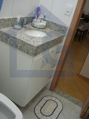 apartamento para venda, 2 dormitórios, jardim santo andré - santo andré - 2255