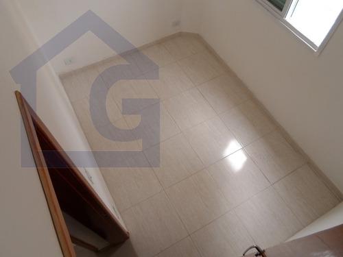 apartamento para venda, 2 dormitórios, jardim santo antonio - santo andré - 2185