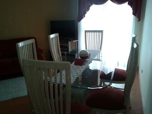apartamento para venda, 2 dormitórios, jardim taipas - são paulo - 7888