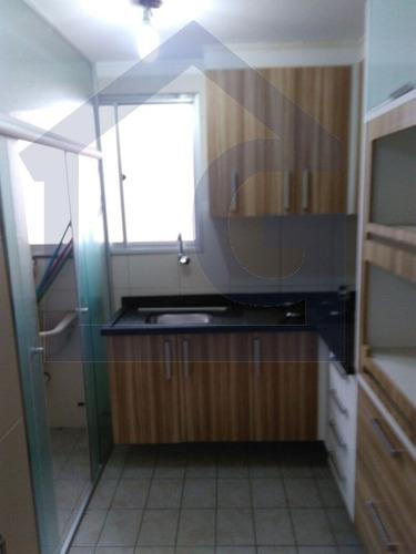 apartamento para venda, 2 dormitórios, jardim yraja - são bernardo do campo - 2675