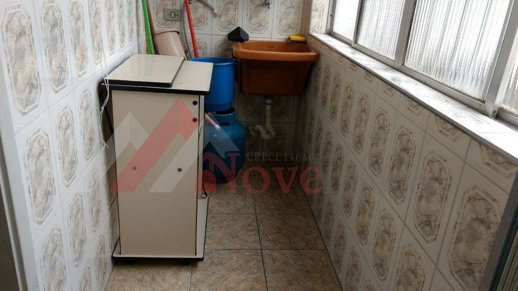 apartamento para venda, 2 dormitórios, josé menino - santos - 665