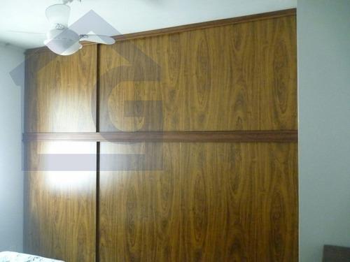 apartamento para venda, 2 dormitórios, marapé - santos - 2623