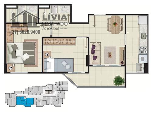 apartamento para venda, 2 dormitórios, maruípe - vitória - 1440