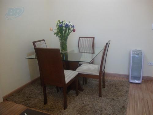 apartamento para venda, 2 dormitórios, nova mogilar - mogi das cruzes - 61