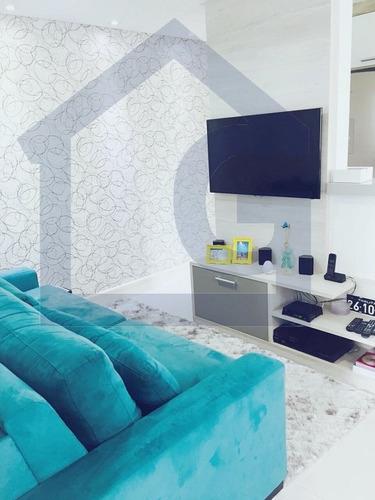 apartamento para venda, 2 dormitórios, parque são vicente - mauá - 3067