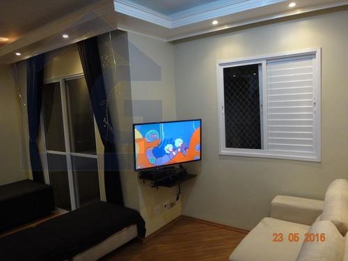 apartamento para venda, 2 dormitórios, planalto - são bernardo do campo - 2453