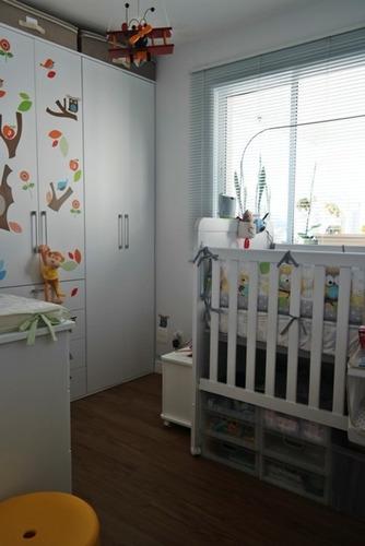 apartamento para venda, 2 dormitórios, pompéia - são paulo - 6144