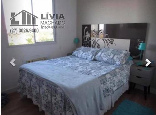 apartamento para venda, 2 dormitórios, portal de jacaraípe - serra - 1866