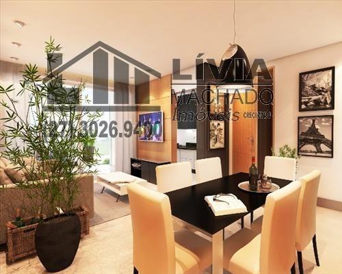 apartamento para venda, 2 dormitórios, praia do canto - vitória - 1384