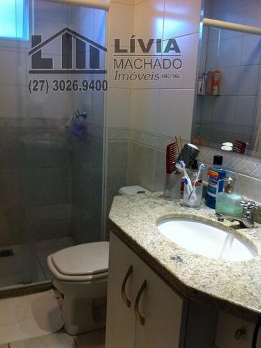 apartamento para venda, 2 dormitórios, praia do canto - vitória - 1506