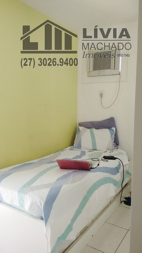 apartamento para venda, 2 dormitórios, praia do canto - vitória - 1592