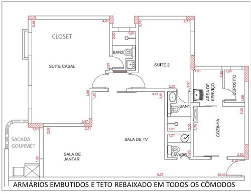 apartamento para venda, 2 dormitórios, rudge ramos - são bernardo do campo - 3999