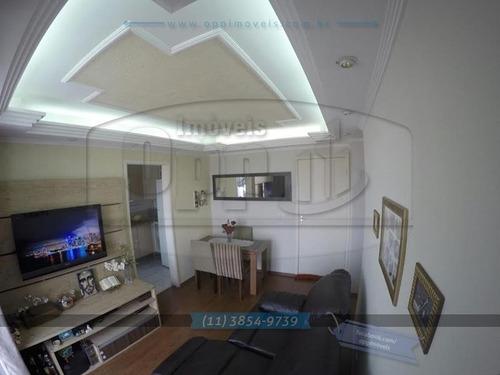 apartamento para venda, 2 dormitórios, sacomã - são paulo - 2409