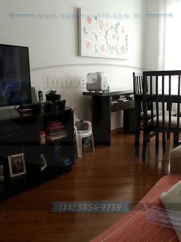 apartamento para venda, 2 dormitórios, sacomã - são paulo - 2975