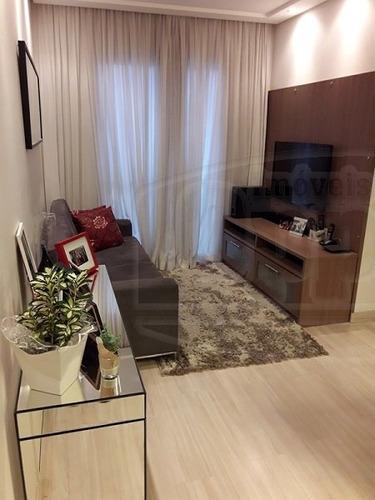 apartamento para venda, 2 dormitórios, taboão - são bernardo do campo - 3707