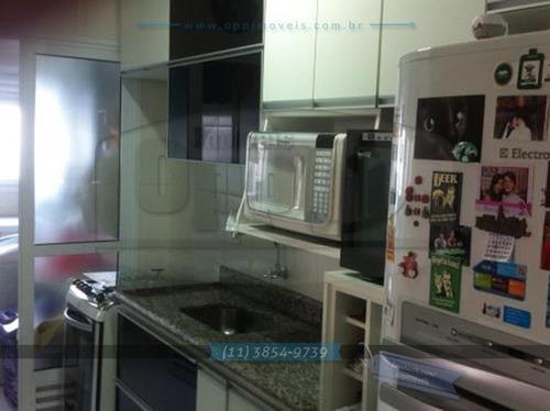 apartamento para venda, 2 dormitórios, vila das mercês - são paulo - 2731