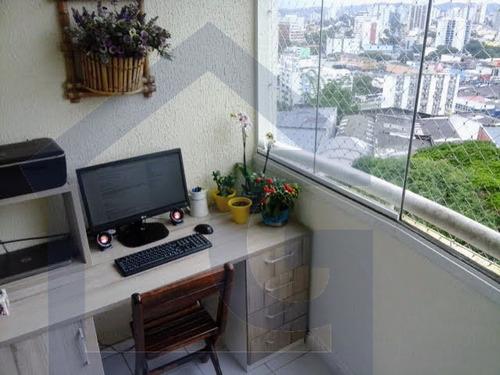 apartamento para venda, 2 dormitórios, vila euclides - são bernardo do campo - 3090