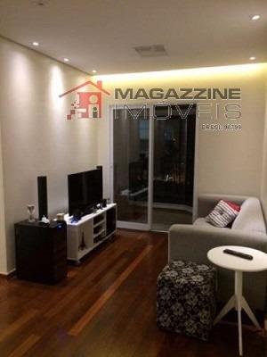 apartamento para venda, 2 dormitórios, vila guarani (zona sul) - são paulo - 2770