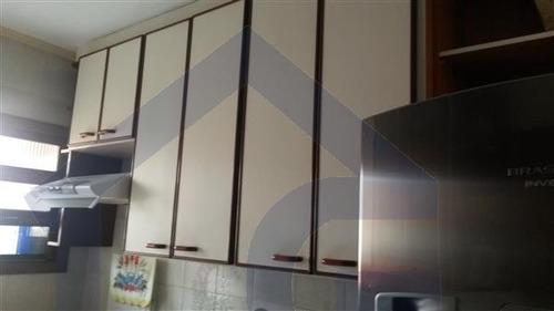 apartamento para venda, 2 dormitórios, vila lutécia - santo andré - 3639