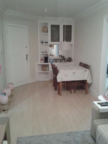 apartamento para venda, 2 dormitórios, vila monte alegre - são paulo - 1761