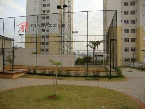 apartamento para venda, 2 dormitórios, vila parque jabaquara - são paulo - 2413