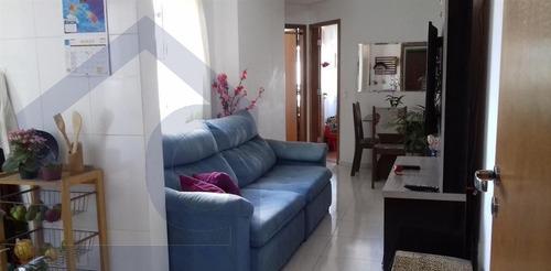 apartamento para venda, 2 dormitórios, vila valparaíso - santo andré - 3266
