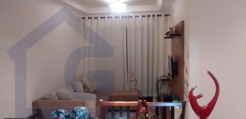 apartamento para venda, 3 dormitórios, baeta neves - são bernardo do campo - 3418