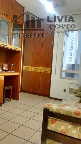 apartamento para venda, 3 dormitórios, barro vermelho - vitória - 1536
