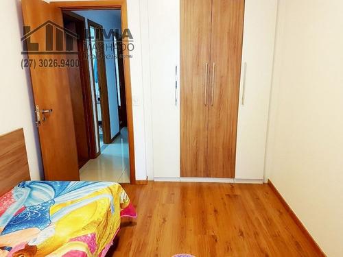 apartamento para venda, 3 dormitórios, barro vermelho - vitória - 1872