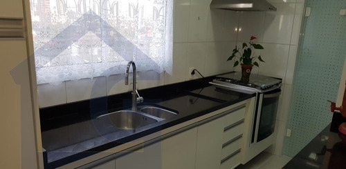 apartamento para venda, 3 dormitórios, campestre - santo andré - 3384
