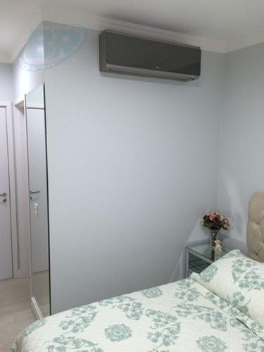 apartamento para venda, 3 dormitórios, chácara jafet - mogi das cruzes - 283