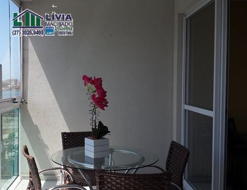 apartamento para venda, 3 dormitórios, enseada do suá - vitória - 1152
