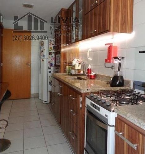 apartamento para venda, 3 dormitórios, enseada do suá - vitória - 1688