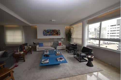 apartamento para venda, 3 dormitórios, higienópolis - são paulo - 10494