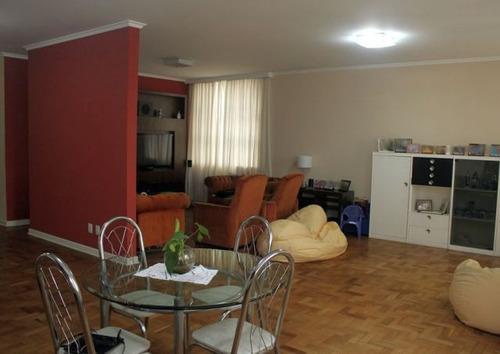 apartamento para venda, 3 dormitórios, higienópolis - são paulo - 2307