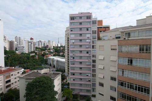 apartamento para venda, 3 dormitórios, higienópolis - são paulo - 2886