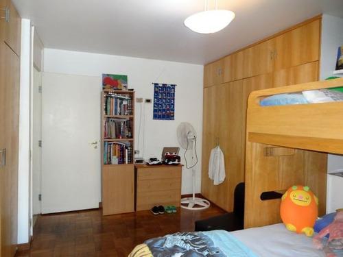 apartamento para venda, 3 dormitórios, higienópolis - são paulo - 3860