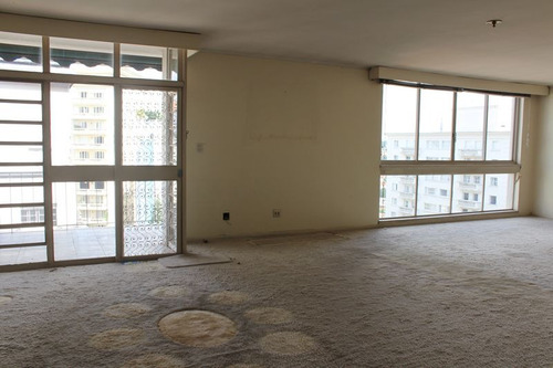 apartamento para venda, 3 dormitórios, higienópolis - são paulo - 5807