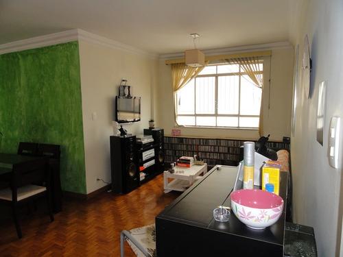 apartamento para venda, 3 dormitórios, higienópolis - são paulo - 6831