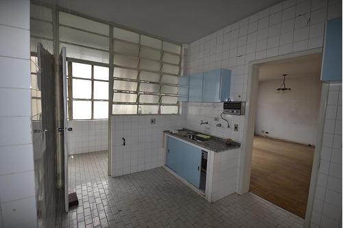 apartamento para venda, 3 dormitórios, higienópolis - são paulo - 7079