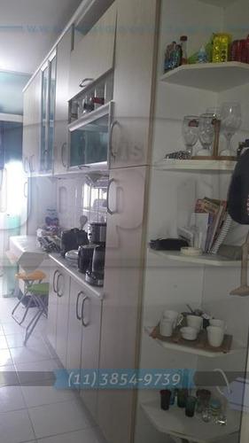 apartamento para venda, 3 dormitórios, ipiranga - são paulo - 2934