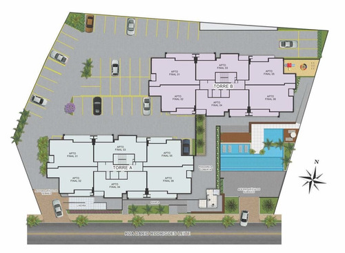 apartamento para venda, 3 dormitórios, jardim coelho neto - guaratinguetá - 1073