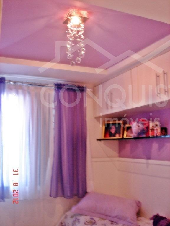 apartamento para venda, 3 dormitórios, jardim - santo andré - 1646