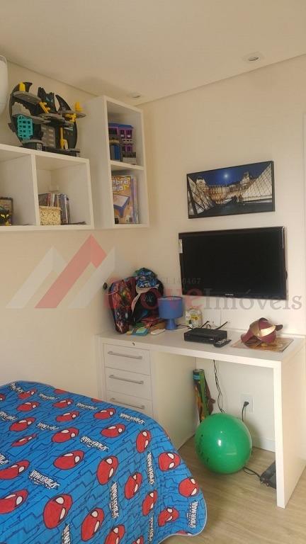 apartamento para venda, 3 dormitórios, marapé - santos - 883