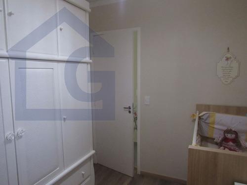 apartamento para venda, 3 dormitórios, parque bandeirantes - santo andré - 2836